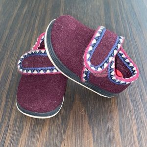 Fosmtreads toddler/infant rocket slipper shoes 5C